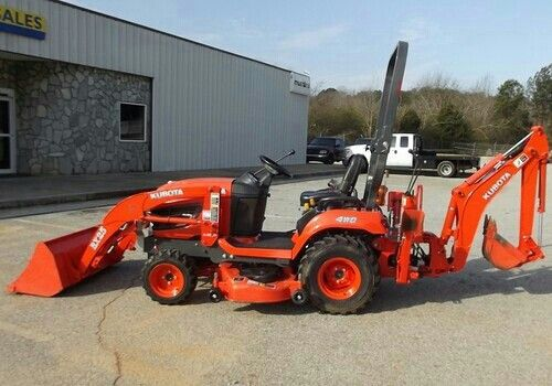 Pin By Jesse James On Garden Yard Kubota Lawn Tractors Kubota Tractors