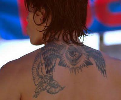 Brandon B Tat Tattoo Ideas Brandon Boyd Incubus Tattoo