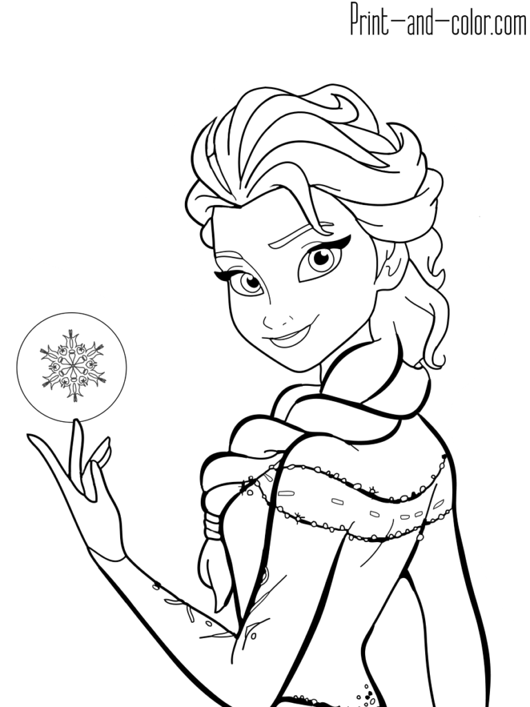 Frozen Coloring Pages Print And Color Com Frozen Coloring Frozen Coloring Pages Princess Coloring Pages