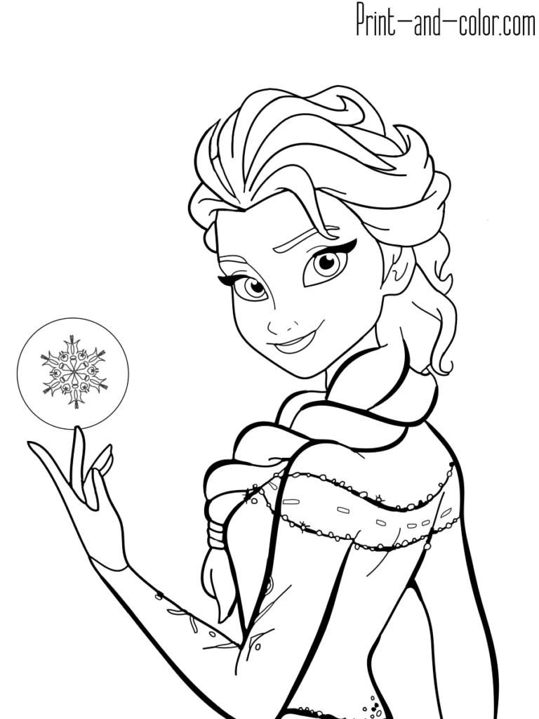 Coloring Book Online Frozen