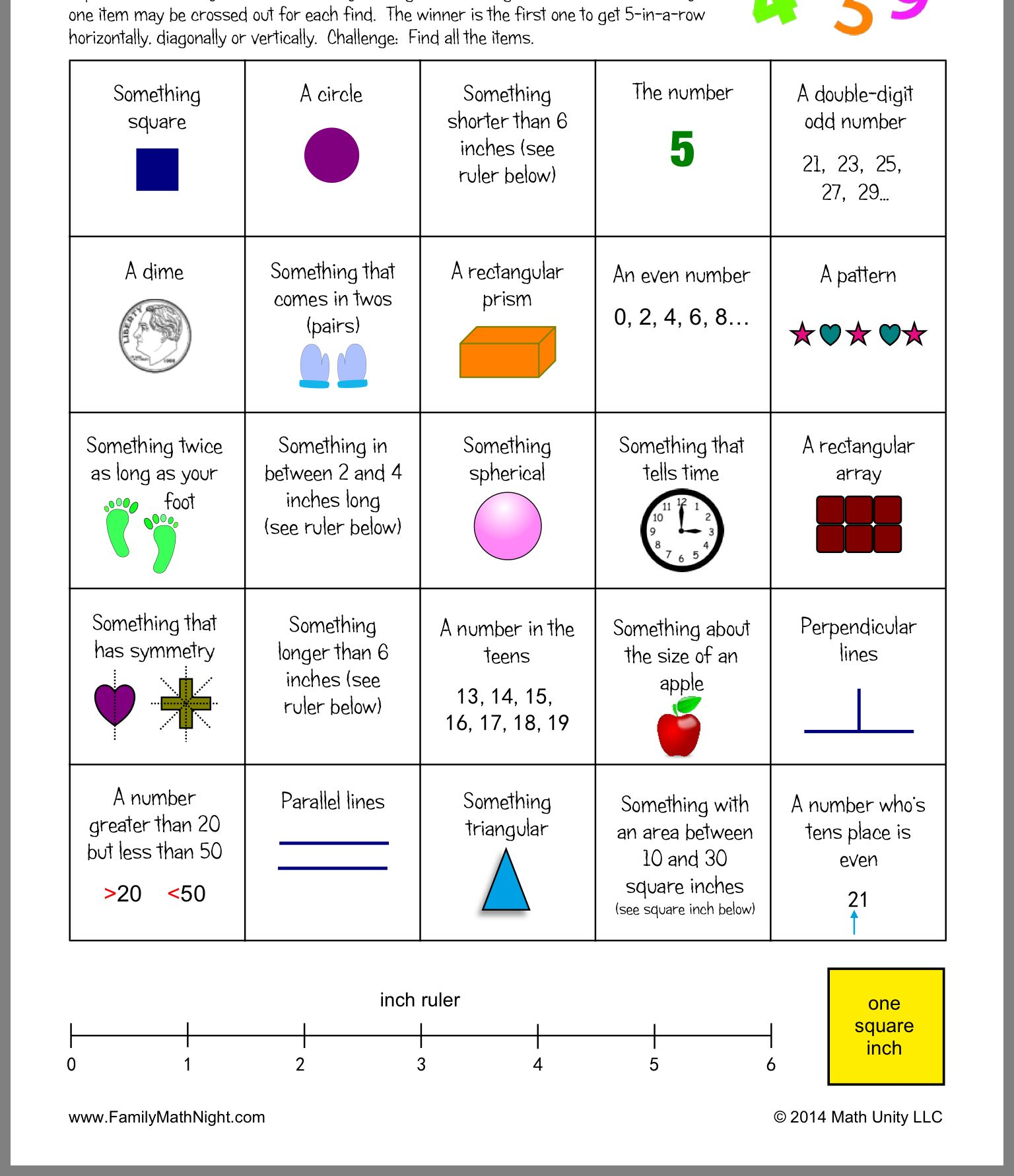 Pin By Christy Wyatt On Math Night
