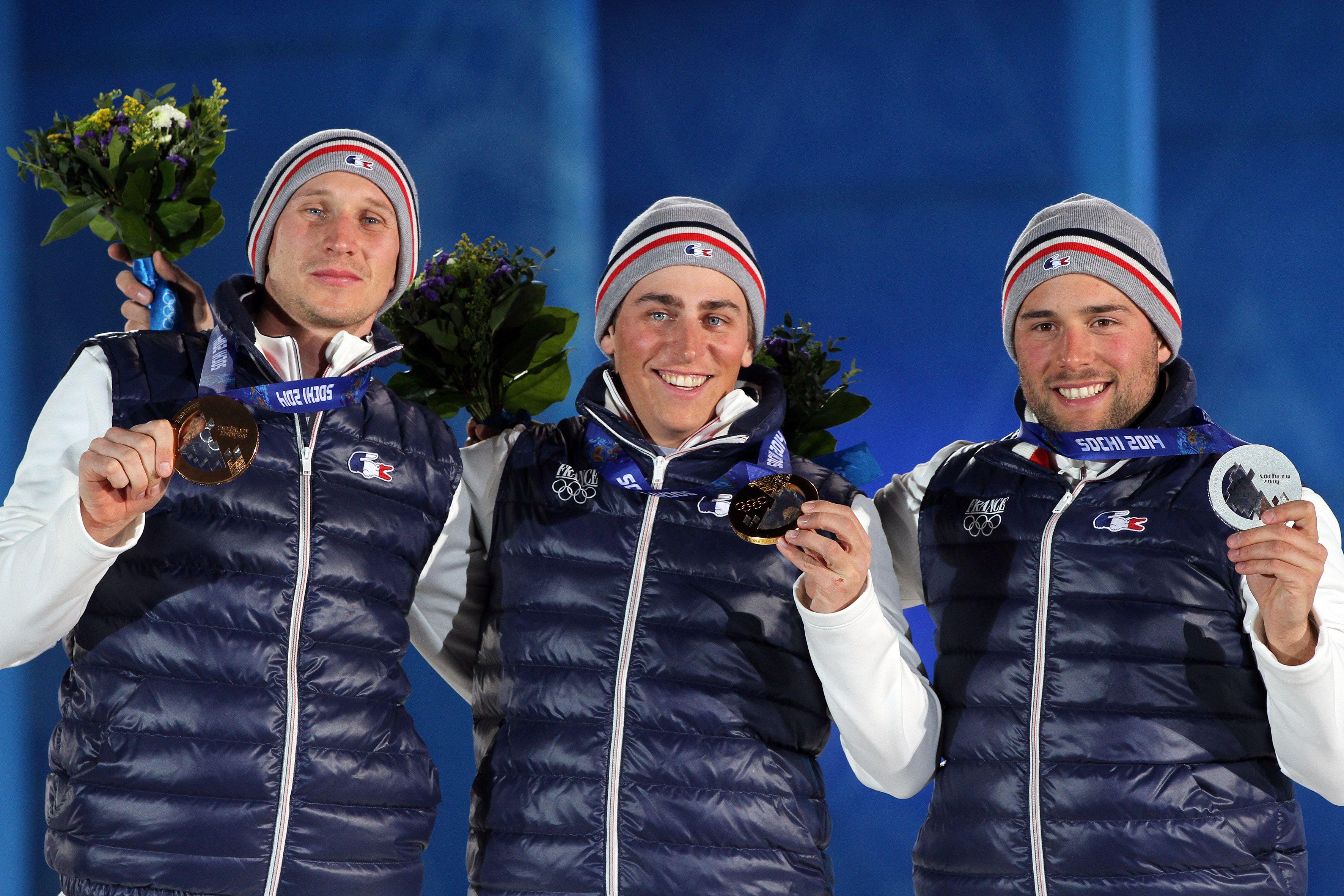 Freestyle Men's Ski Cross Podium Arnaud Bovolenta from
