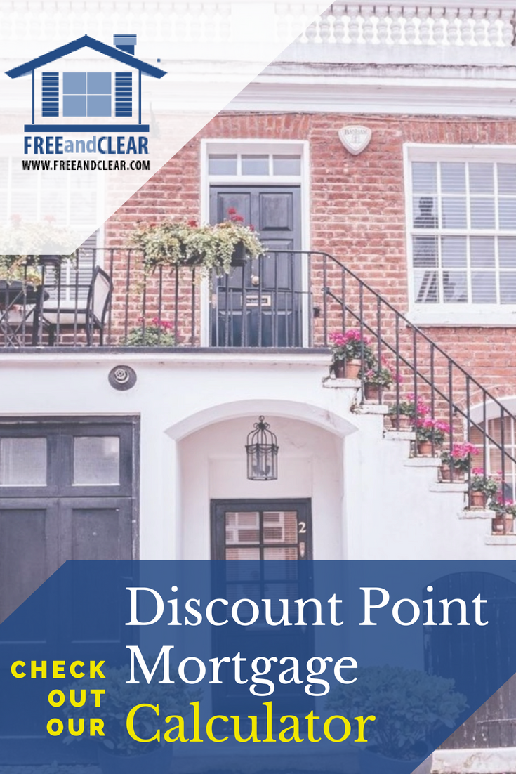 Discount Point Calculator Should You Pay Points Freeandclear Interest Only Mortgage Best Mortgage Lenders Refinance Mortgage
