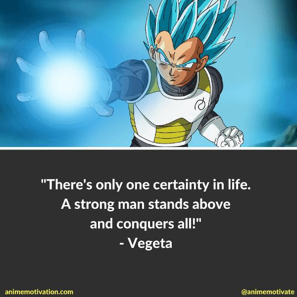 Vegeta's Quotes In Dragon Ball Super