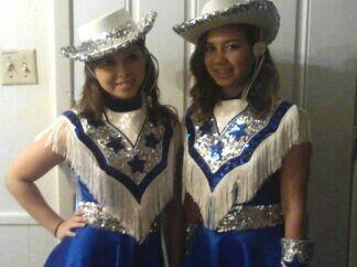 Kristina and Creslyn Blue Brigade 10/2012