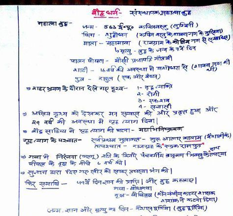 Ancient Indian History Handwritten Notes Hindi PDF Download