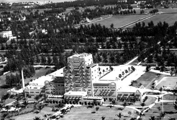 Aerial View Of The Flamingo Hotel Miami Beach Florida 19