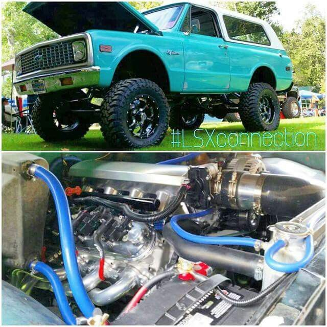 1972 Chevrolet K5 Blazer Lifted Ls Swap Chevy Blazer K5 Cool