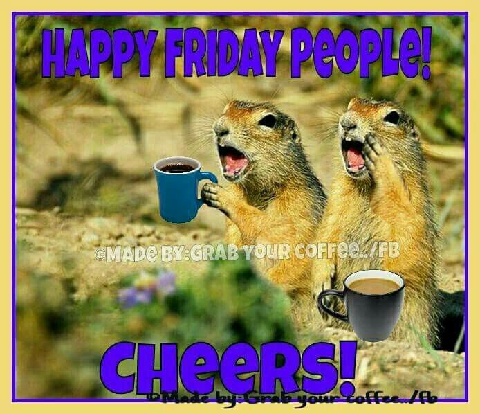 Happy Friday people! Cheers!