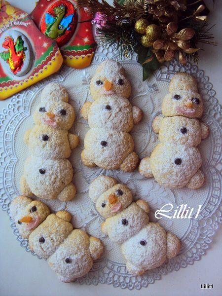 snowman cookie)
