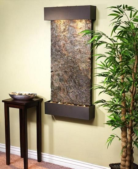 Fuentes decorativas para interiores para casa fountain indoor wall fountains y wall - Paredes decorativas interiores ...