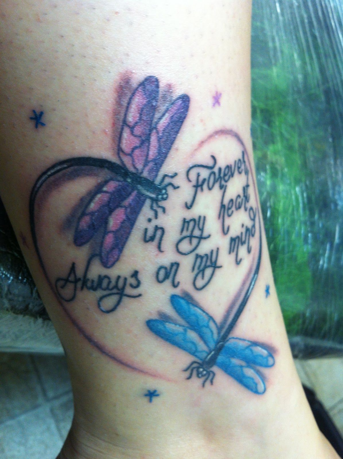 Dragonflies symbolize lost loved ones image for Tattoos for lost loved ones quotes