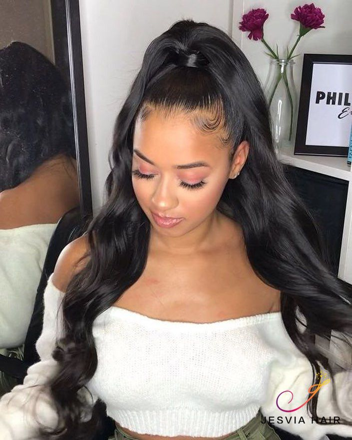 Half Up Half Down Hairstyles For Straight Hair: 3 Bundles Deal Brazilian Hair Body Wave En 2019