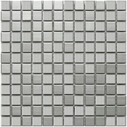 Stainless Steel Mosaic Tile 1x1 Stainless Steel Tile Porcelain Mosaic Tile Porcelain Mosaic