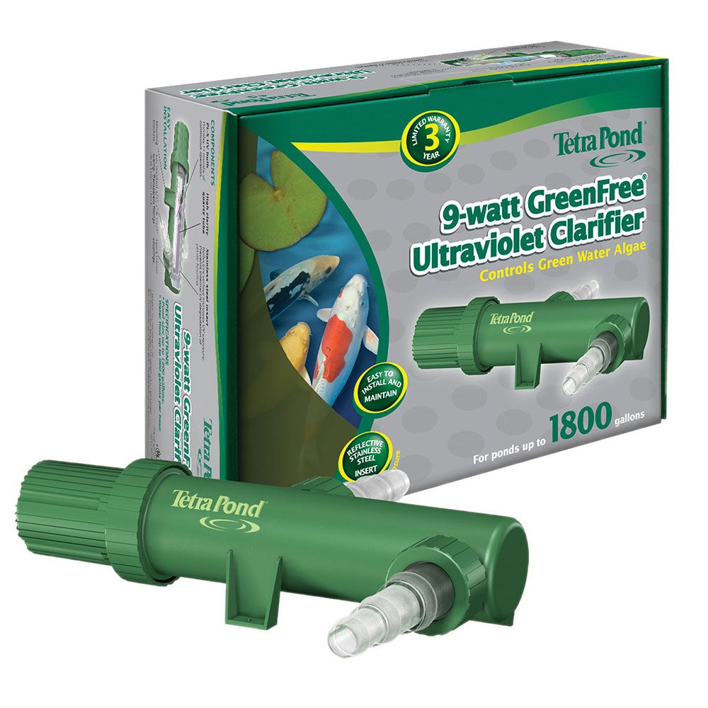 """Pond UV Applications """"Green Water"""" Algae Control (With"""