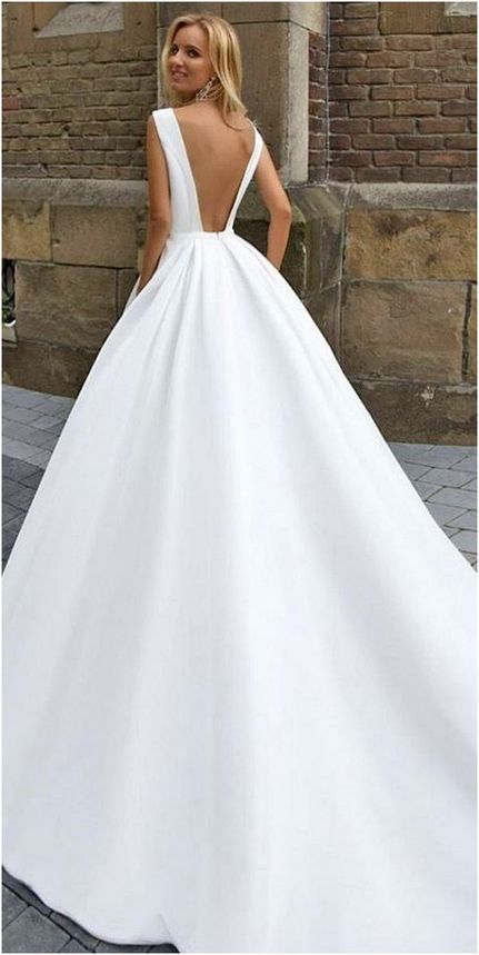 200+ Luxurious Open Back Wedding Dresses For Spring | Traje de novio ...