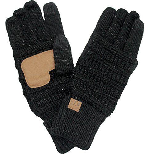 BYSUMMER C.C. Smart Touch Winter Warm Knit Touchscreen Te...