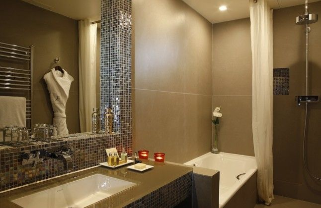Relais Christine - Salle de bain - Chambre de Luxe Sweet dreams