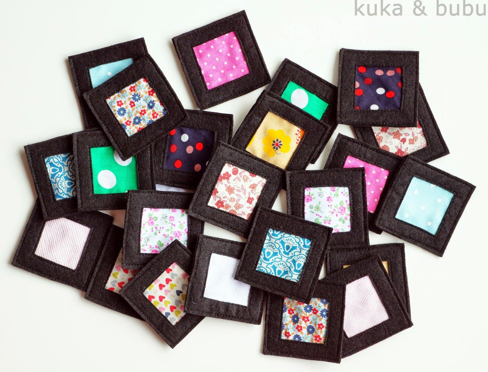 Memory squares, how many can your little one match...