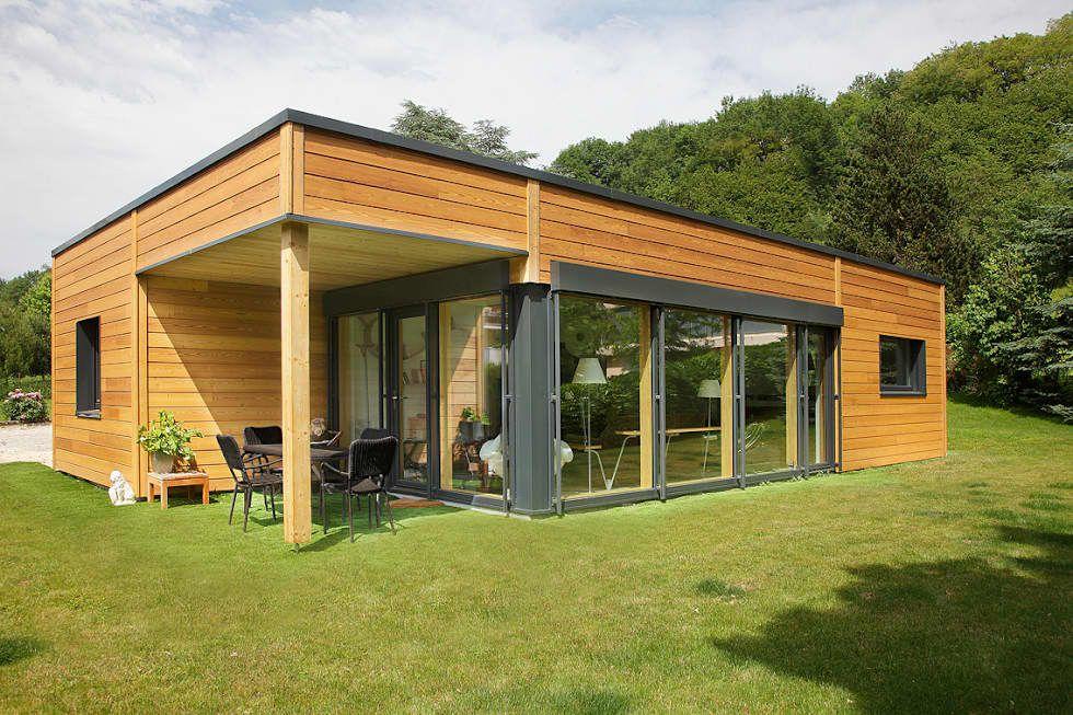 Maison de plain-pied, petit volume (100m2) par myotte-duquet habitat moderne en 2020 | Maison ...