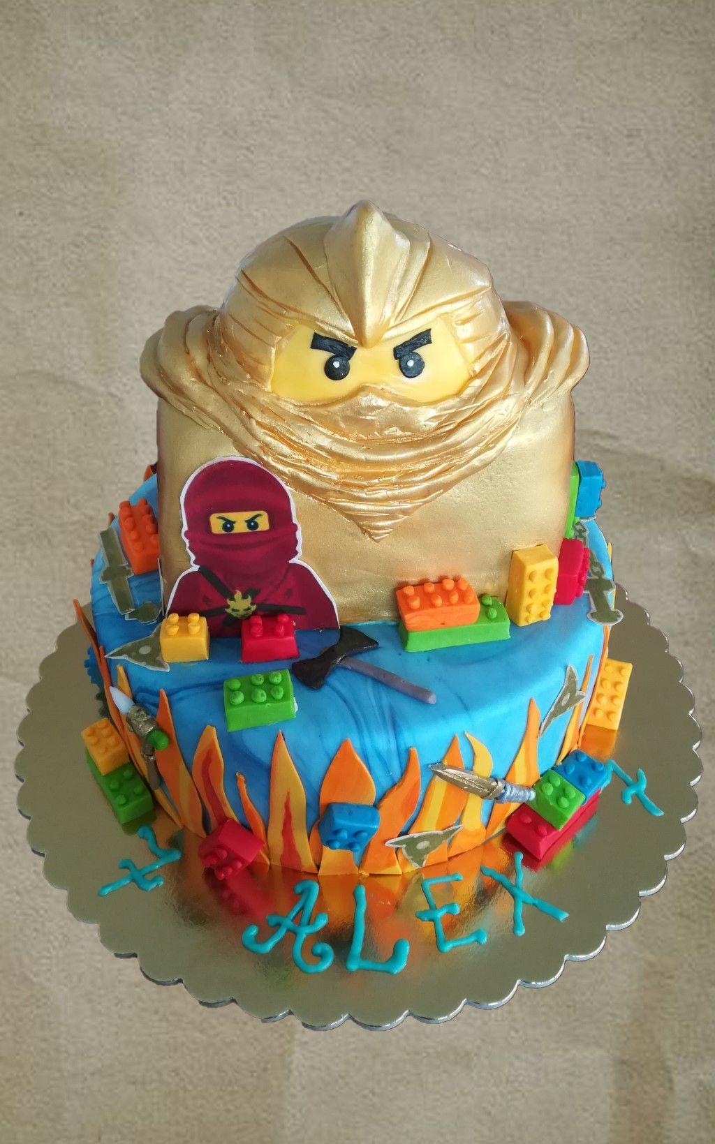 Lego Ninjago Cake