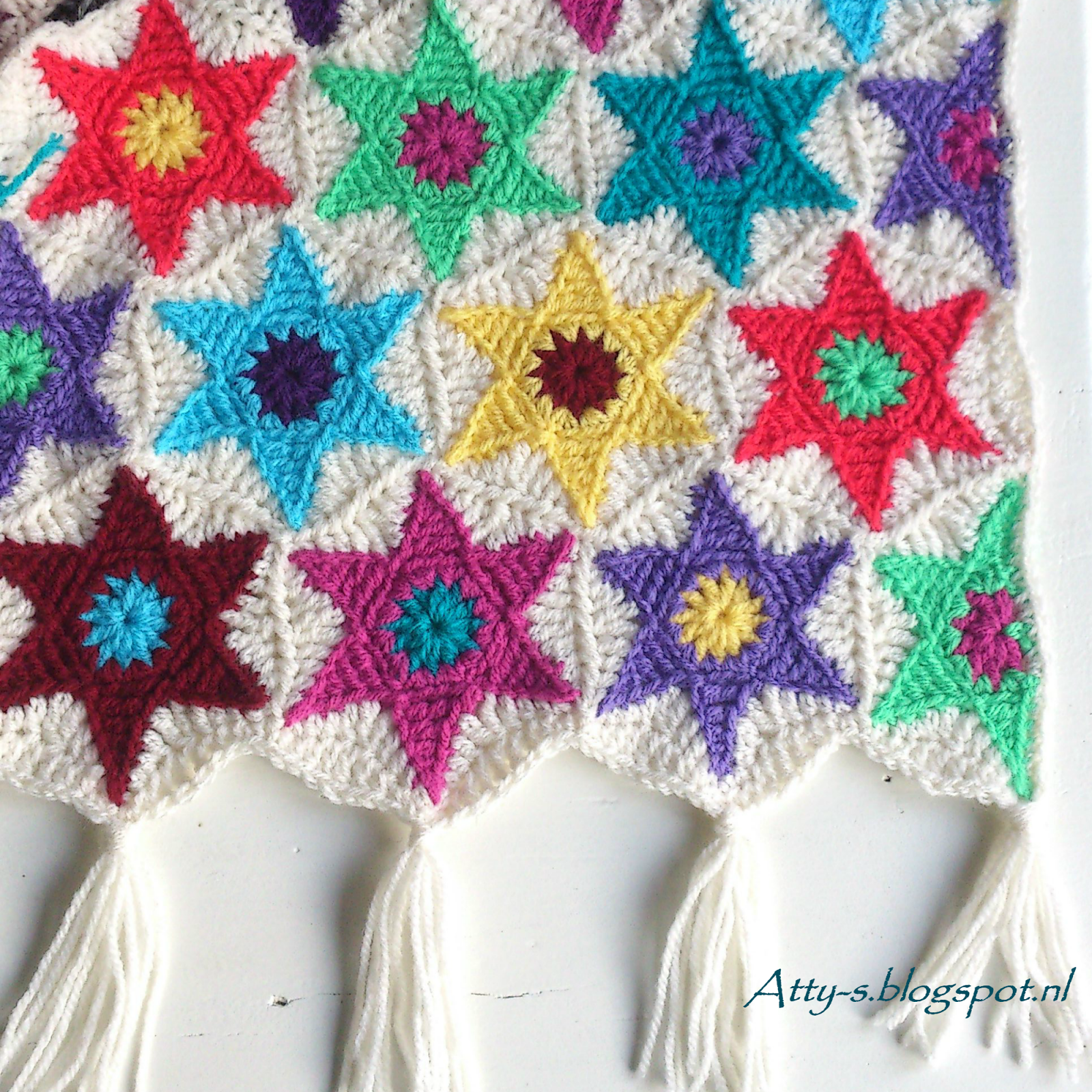 Crochet star hexagon httpsfacebookattysloveforcrochet half star hexagon free pattern by attys in english and dutch bankloansurffo Images