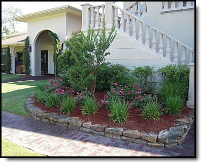 texas landscaping residential