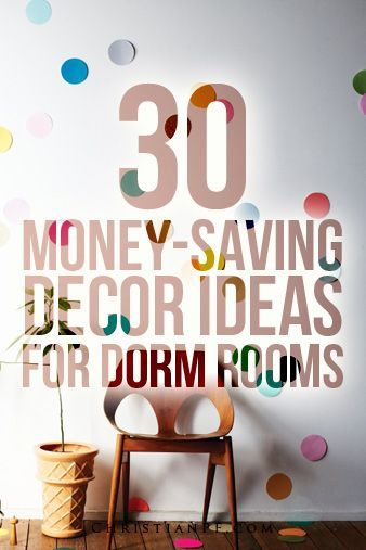 30 Awesome Dorm Room Decor Ideas Money Saving DIY Dorm rooms