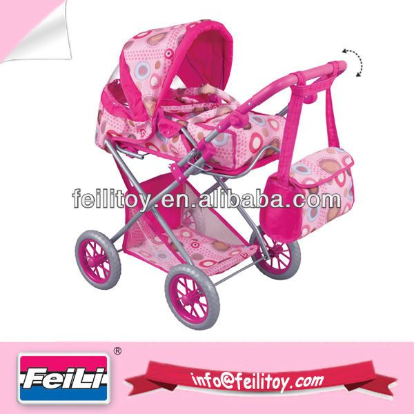Feili Deluxe Big Size Doll Pram With Carrier And Shoulder Bag ...