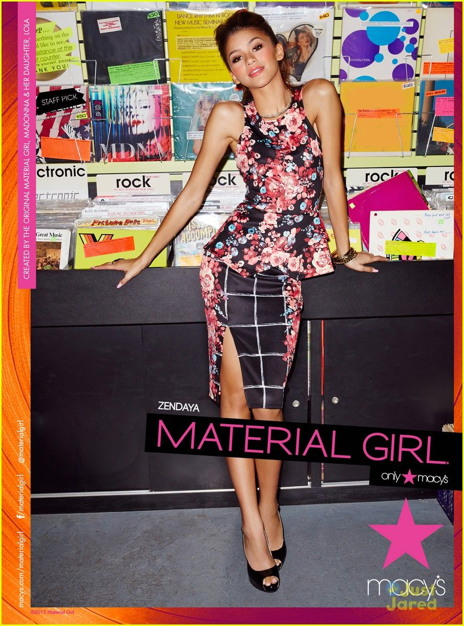 Zendaya is still a material girl see her spring campaign pics