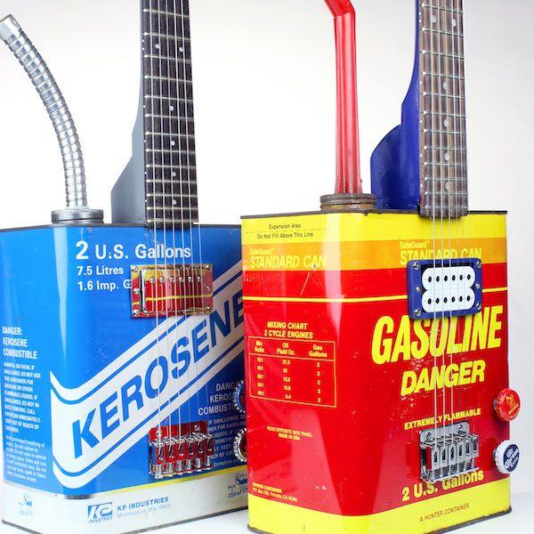 Some Kerosene And Gasoline Vintage Bohemian Guitars Danger Gas