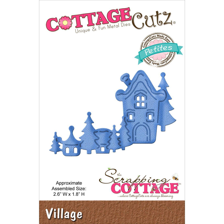 CottageCutz Petites Die - Village