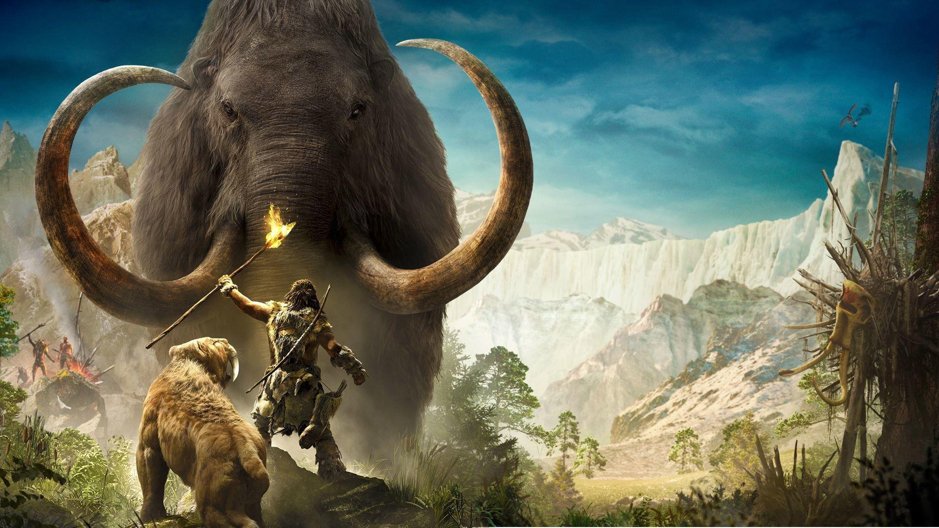 Far Cry Primal Mammoth | Far Cry Primal Wallpaper in