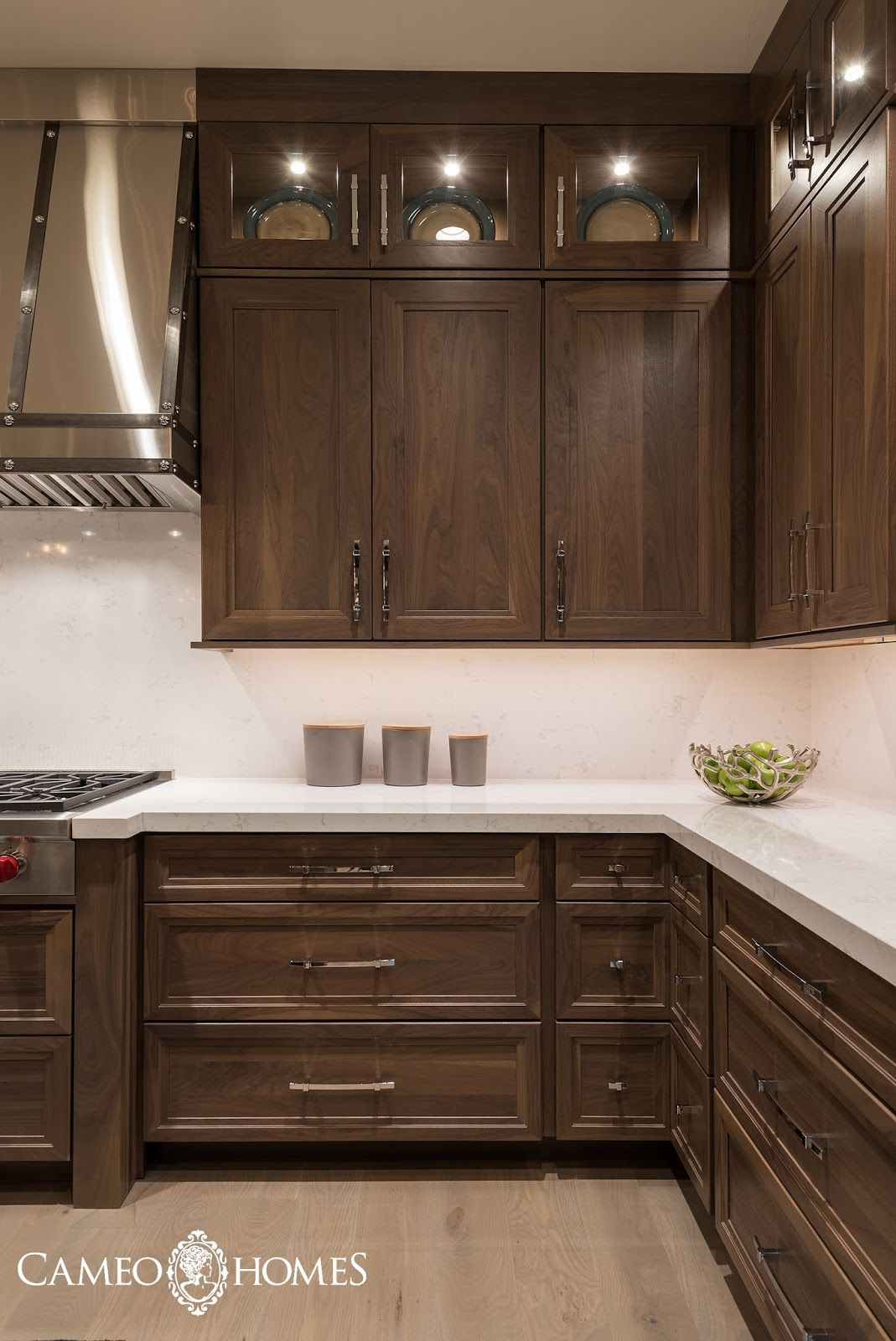 The New Fork Project Kitchen And Dining Area Farmhouse Style Kitchen Cabinets Kitchen Cabinet Styles Stained Kitchen Cabinets