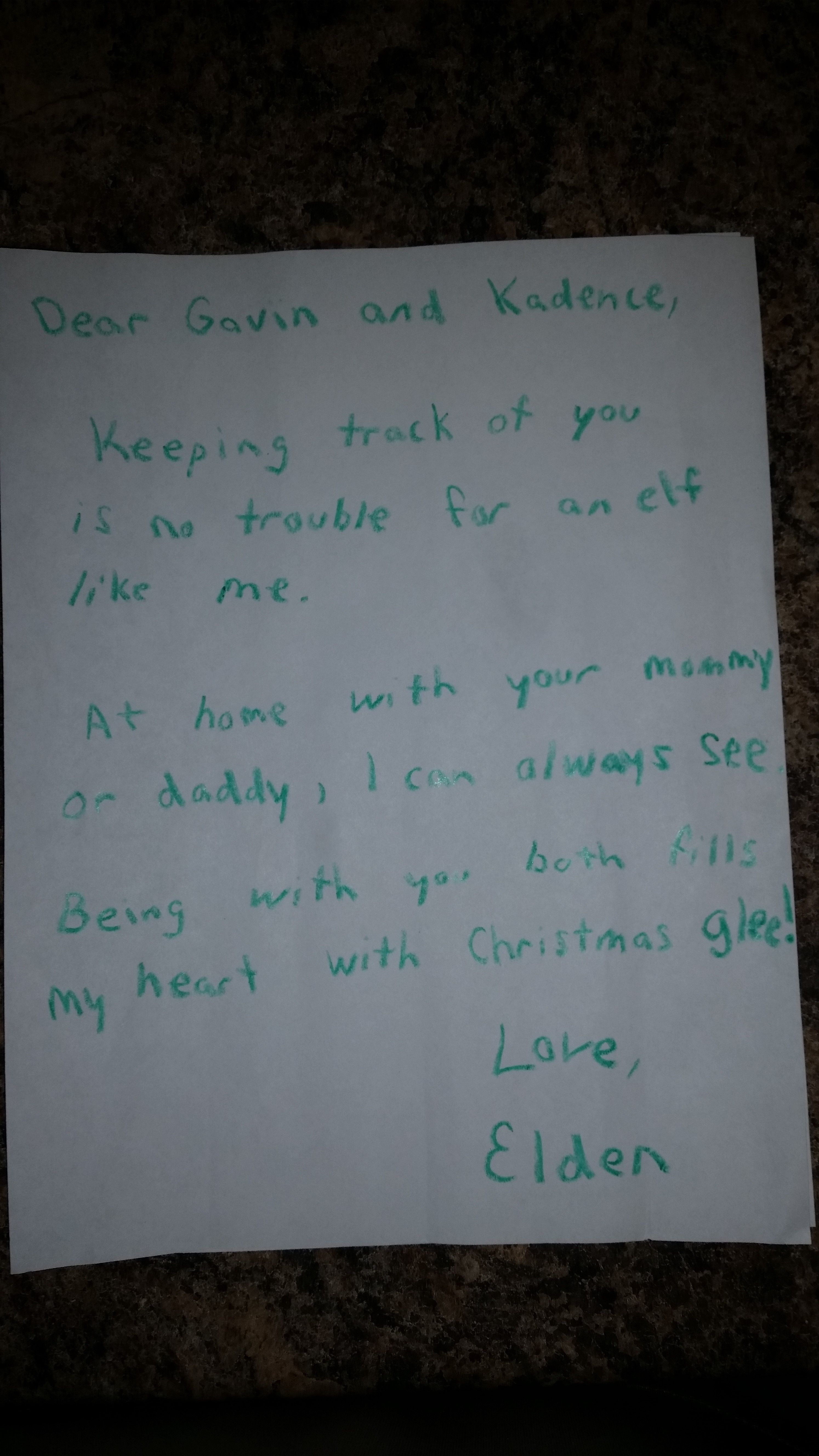 Elf On The Shelf Letter For Divorced Parents Elf Antics Christmas Elf Elf On The Shelf