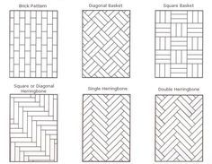 A Guide to Parquet Floors Patterns and More   Hadley CourtA Guide to Parquet Floors Patterns and More   Hadley Court   Tile  . Faux Wood Tile Herringbone Pattern. Home Design Ideas