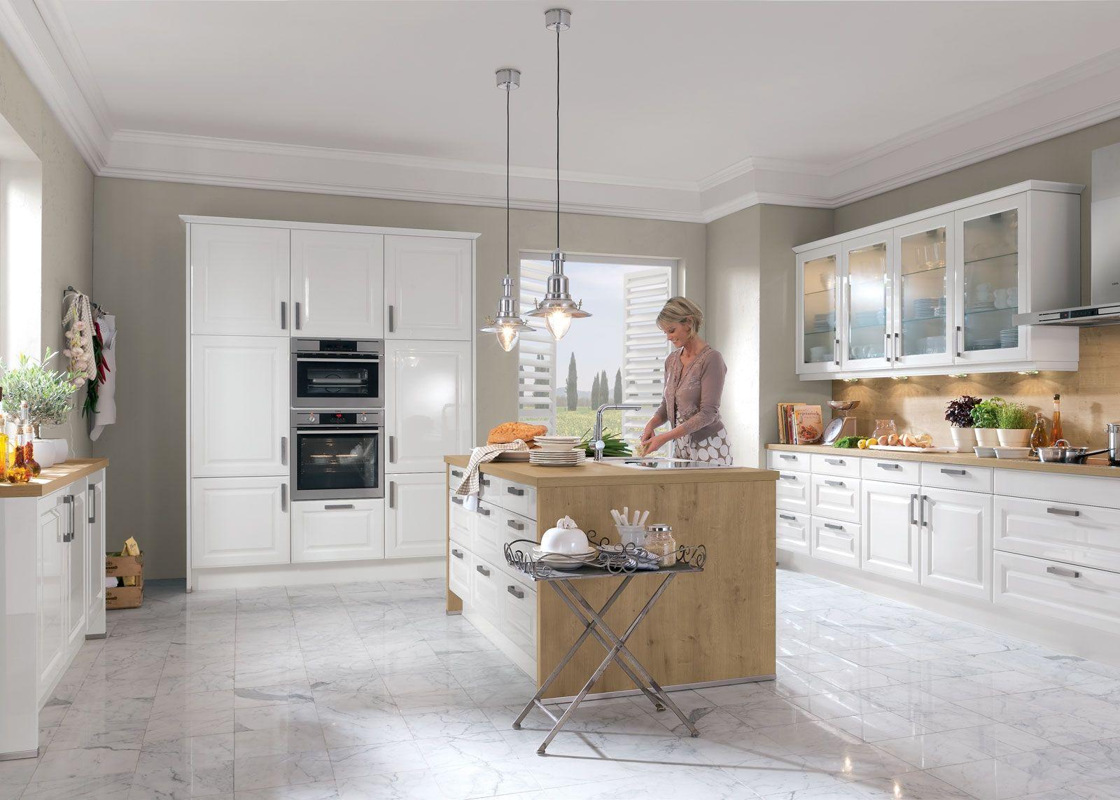 Schlichtes Landhaus Moderne küche, Küchendesign modern