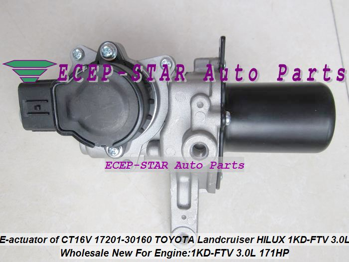 Turbo Electric Actuator Of Ct16v 17201 30160 1720130160 1720130160