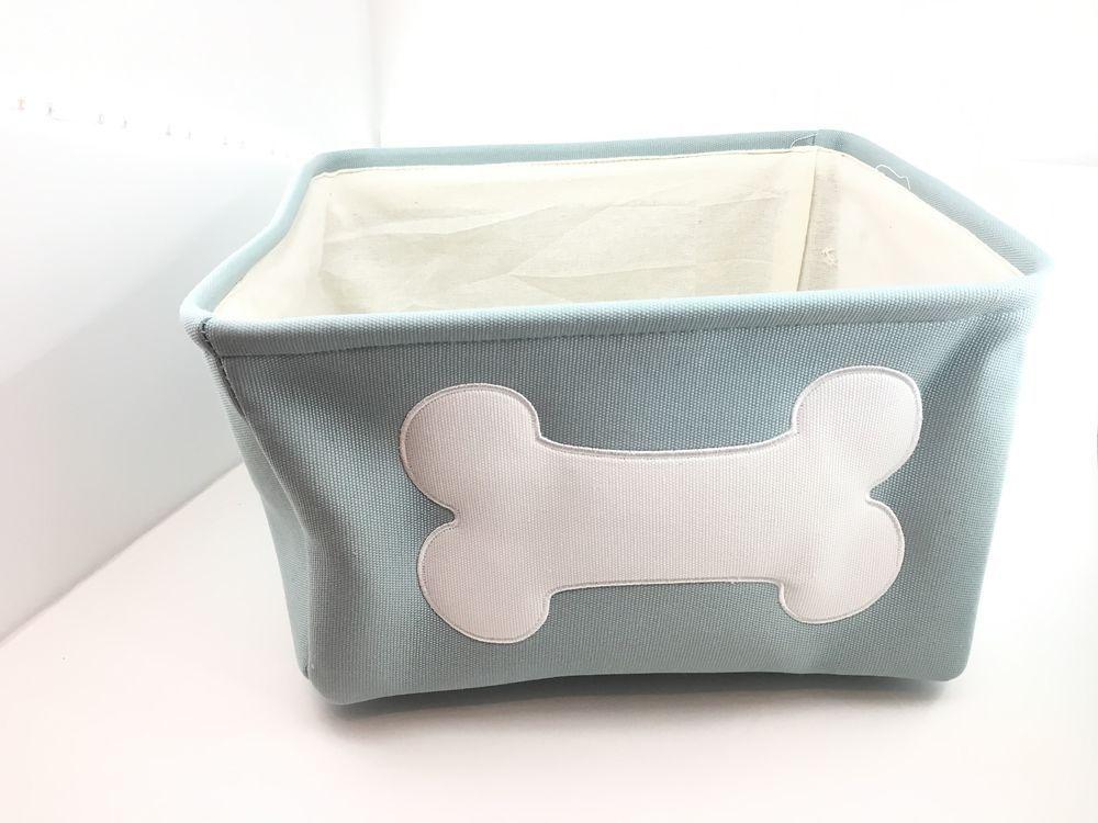 Pet Toy Storage Bin Organizer Basket Dog Cat Supplies Box Container Puppy  Stuff #RGIHome