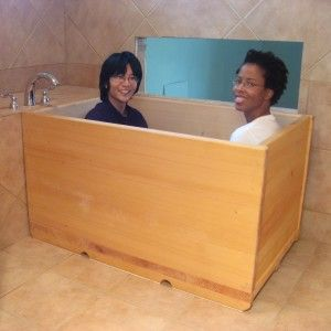 Ofuro1 Toni Causey I Think This Box Bath Is Made Of Some Sort Of