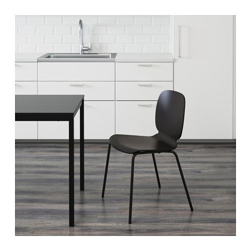 SVENBERTIL Chair, Black, Broringe Black