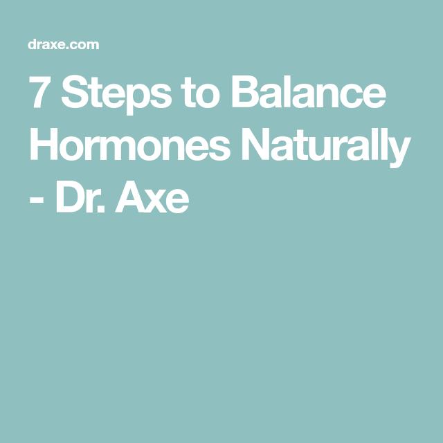 7 Steps To Balance Hormones Naturally Balance Hormones Naturally Hormone Balancing Hormone Imbalance