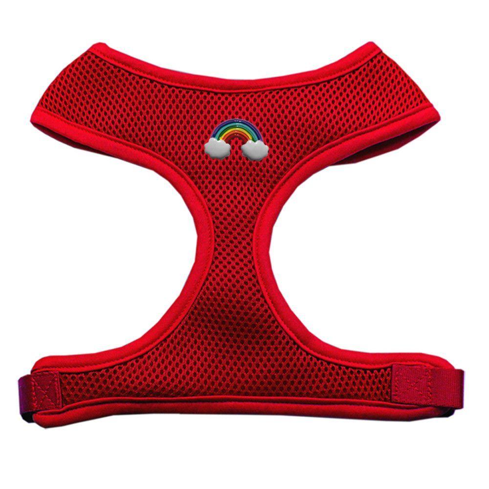 Basic Soft Dog Harness - Chipper Rainbow