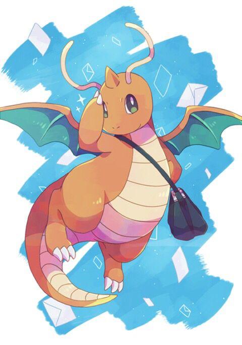 Dragonite Cute Pokemon Dragon Type Pokemon Pokemon