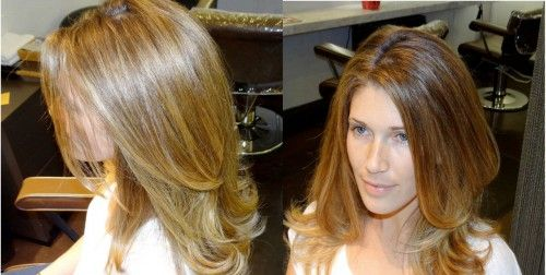 Color Hair Honey Results From Rusk Matrix Bigen Like Adore Shining