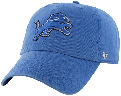 best service cdbf1 5392e ... cheap nfl detroit lions 47 clean up adjustable hat blue raz one size  read more at