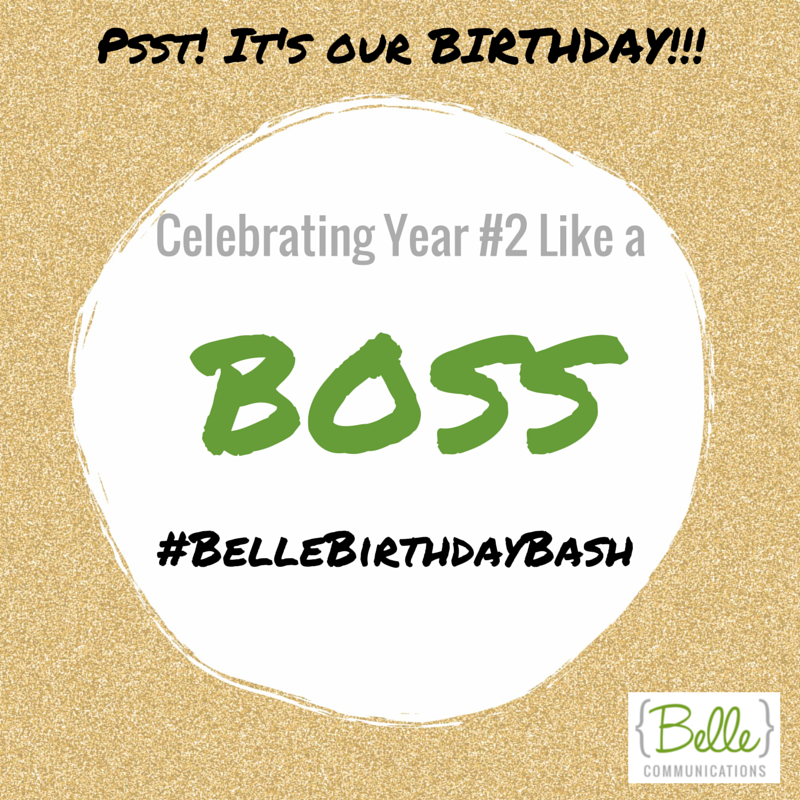 It's Our Birthday! Gift for YOU + Goodbye Year 2 #BelleBirthdayBash