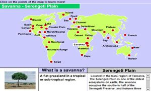 Interactive world landforms map social studies pinterest interactive world landforms map gumiabroncs Image collections