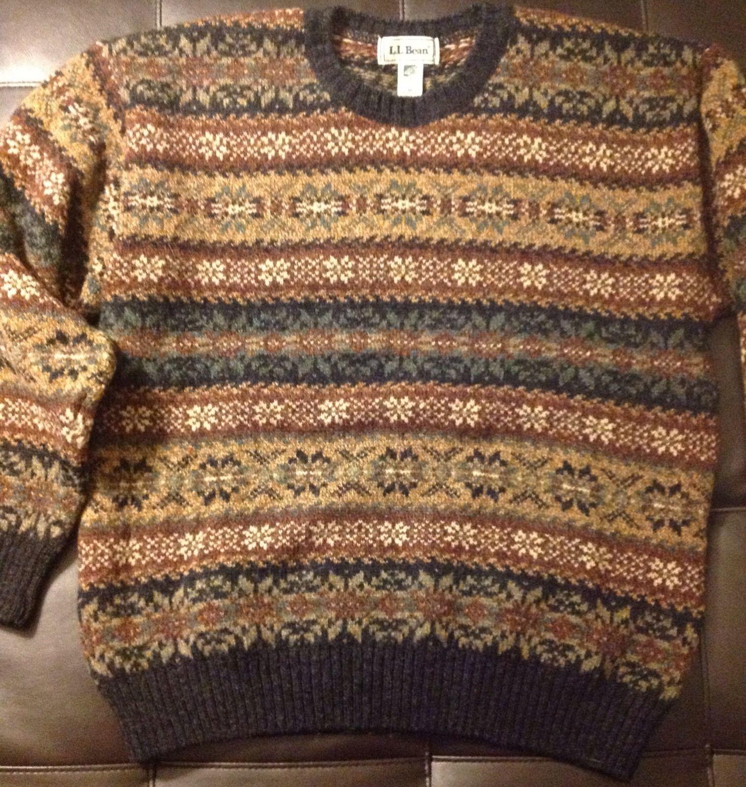 LL Bean - Fair Isle Sweater | Sartorial - Wish List | Pinterest