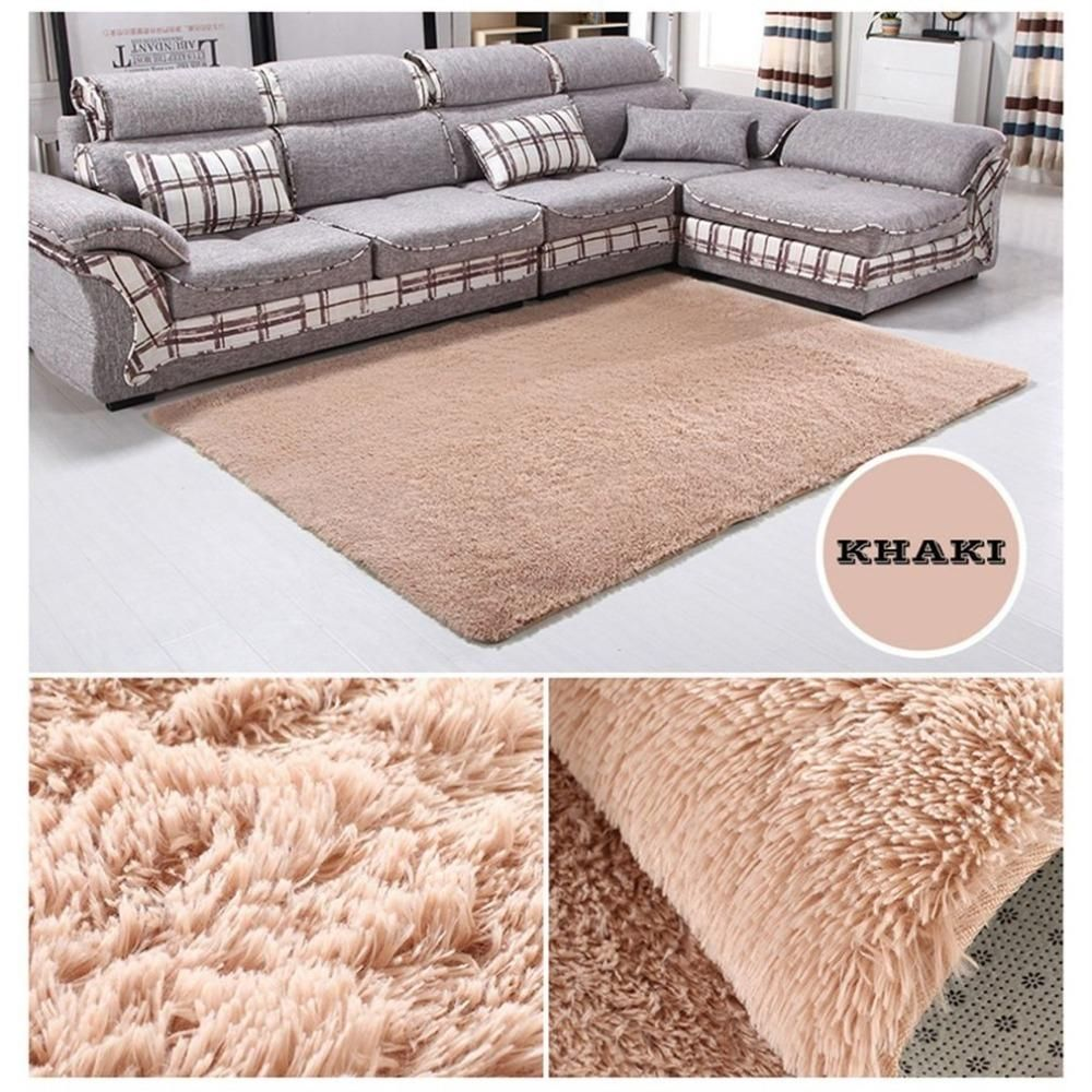 Large 160 230cm Bedroom Carpet Plush Shaggy Soft Carpet Area Rugs Floor Mats Home Warm Plush Floor Rugs Fluffy Mat Bedroom Carpet Soft Carpet Carpets Area Rugs